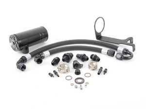 "ES#3021898 - CCT004 - BFI ""Clean Catch"" - Crankcase Oil Separator KIT - Keep your intake tract clean and oil free, with this BFI baffled Oil Catch Can System - Black Forest Industries - Audi Volkswagen"