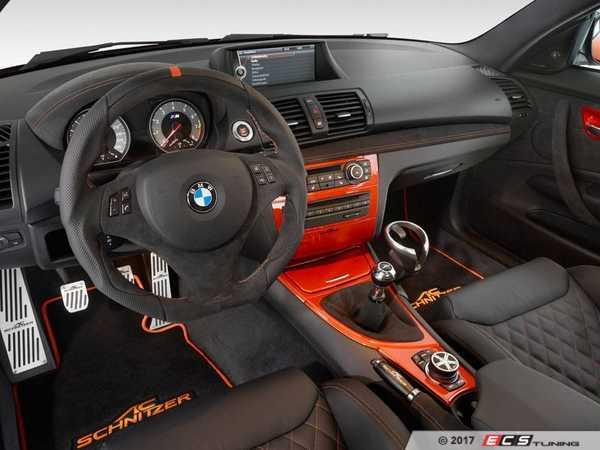 ES#3411102 - 514782110 - AC Schnitzer Floor Mats - A unique look including an orange stitched AC Schnitzer logo - AC Schnitzer - BMW