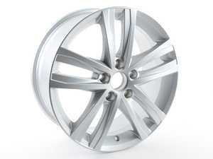 "ES#2774196 - 5C0601025AN8Z8 - 17"" V26 Wheel - Priced Each - 17""x7"", ET54 - Diamond Silver - Genuine Volkswagen Audi - Volkswagen"