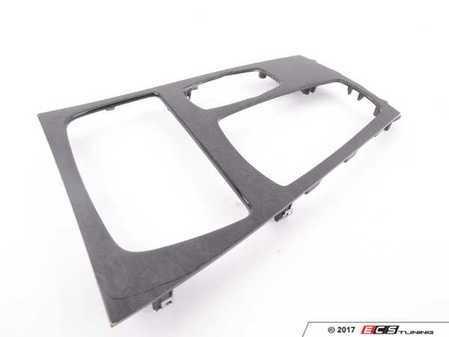 ES#3420575 - 51169160474SD - Center console trim *Scratch And Dent* - Anthracite ash wood - Genuine BMW - BMW