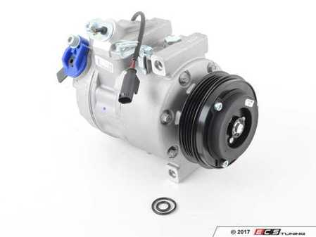 ES#4070018 - 64509174802 - A/C Compressor With Clutch - Keep your car cool with this new compressor - Denso - BMW