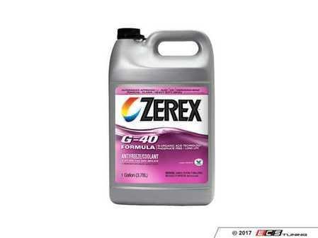 ES#3420837 - 00004330575 - G12++ Coolant - 1 Gallon (3.78 Liters) - Pink ZEREX G-40 formula - Zerex - Audi Volkswagen Porsche