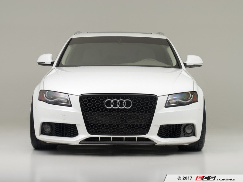Ecs News Ecs Carbon Fiber Front Lip Overlay Audi B8 A4