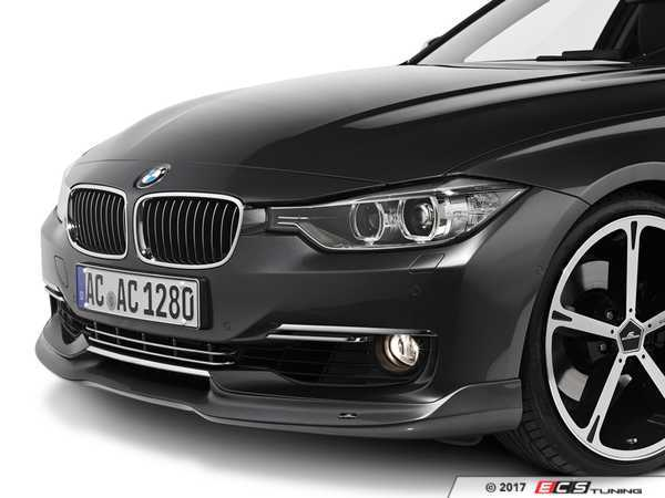 ES#3034419 - 5111230310 - AC Schnitzer Front Splitters - Give your ride a more aggressive look instantly - AC Schnitzer - BMW