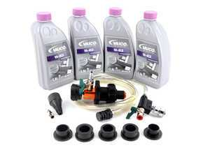 ES#3420793 - g013a8jm1kt6KT - Coolant Flush Kit - Includes Schwaben coolant refill/air purge tool and 6 liters of G13 coolant. - Assembled By ECS - Audi