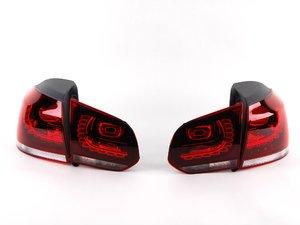 ES#1910147 - 5K0998002 -  European LED Tail Light Set - Tinted - Complete set of LED tail lights from the European Golf R - Genuine European Volkswagen Audi - Volkswagen