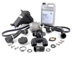 ES#2777666 - 17137607482KT6 - ECS Cooling System Refresh Kit - Level 2 - A more advanced refresh kit - with primary cooling system hoses and accessory belt - Assembled By ECS - BMW