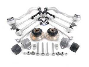 ES#2598903 - 31126769797KT - Front Suspension Refresh Kit - Level 2 - Control arms, end links, sway bar bushings, strut mounts and tie rods for a total front suspension rebuild - with OEM components - Genuine BMW - BMW