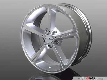 "ES#3410924 - 361160200 - Type IV BiColor Silver Wheel 18"" ( 5x120 ) - Priced Each - 18""x8.5"" 5x120 ET43 - AC Schnitzer - BMW MINI"