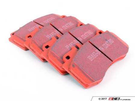 ES#2153409 - DP31857C - Front Redstuff Ceramic Performance Brake Pad Set - High performance street pad featuring Kevlar technology - EBC - Mercedes Benz
