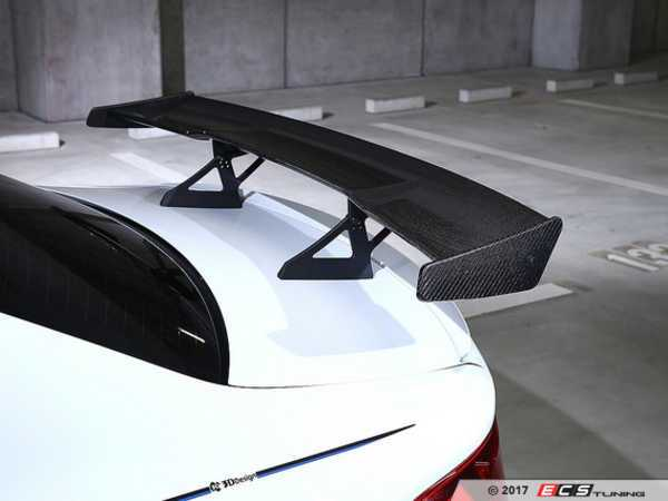 ES#3426750 - 3111-28711 - Carbon Fiber Racing Wing - Aggressive race-car looks for your BMW - 3D Design - BMW