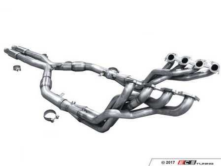 "ES#3426910 - M3-07158300DLSWC - ARH High Performance Exhaust System - Headers, X-Pipe, and Un-resonated Center Section - The ultimate performance exhaust system that includes premium built, high flow 1-5/8"" to 3"" headers, catalytic converters, x-pipe, and connects directly to your cat-back/axle-back exhaust! No resonators for increased sound! - American Racing Headers - BMW"