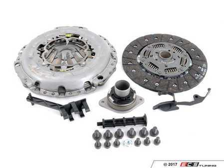 ES#3246015 - 0B4198031 - Clutch Kit  - Includes pressure plate, clutch disc, and throw-out bearing - LUK - Audi