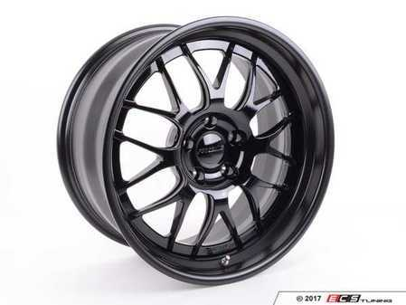 "ES#3411838 - gw3e60m5KT - 19""Forgeline GW3 staggered wheel set  - 19x9 et9, 19x10 et22, 3-Piece wheels with Gloss black face with matte black lips - Forgeline - BMW"