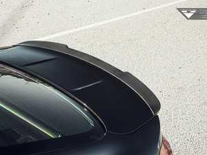 ES#3426998 - 4102BMV - EVO Aero Carbon Fiber Rear Spoiler  - Add more aggressive looks with a unique profile to your BMW - Vorsteiner - BMW