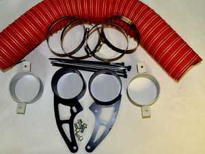 ES#3426950 - 1228214 - SNEED4SPEED R53 Brake Cooler Kit  - Finally add brake duct to your stock Cooper S front bumper - Sneed4Speed - MINI