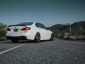 ES#3427018 - 5002BMV - VRS Aero Carbon Fiber Decklid Spoiler  - Add more aggressive looks with a unique profile to your BMW - Vorsteiner - BMW