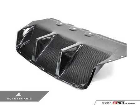 ES#3184763 - BM-0350 - Competition Center Rear Center Diffuser - Add carbon fiber track styling to your M5's rear end - AUTOTECKNIC - BMW