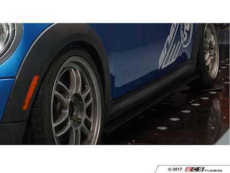 ES#3427219 - 1028325 - SNEED4SPEED MINI Cooper Side Splitter Kit - Aggressive race proven side splitter/side skirt extensions for your MINI Cooper - Sneed4Speed - MINI