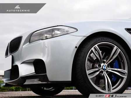 ES#3420784 - BM-0015 - Performance Style Front Splitters - Carbon Fiber - Add aggressive exterior styling to your M5 - AUTOTECKNIC - BMW