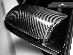 ES#3420807 - BM-0144 - Mirror Cover Caps - Carbon Fiber  - Direct replacement for your factory mirror caps - AUTOTECKNIC - BMW