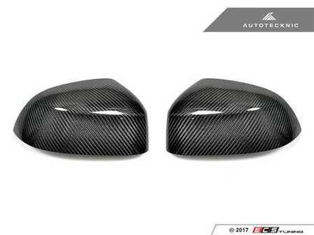 ES#3420808 - BM-0146 - Mirror Cover Caps - Carbon Fiber  - Direct replacement for your factory mirror caps - AUTOTECKNIC - BMW