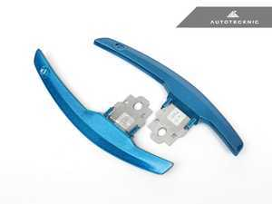 ES#3420969 - BM-0164-LBB - Competition Shift Paddles - Long Beach Blue - Racing paddles for M-DCT transmission - AUTOTECKNIC - BMW