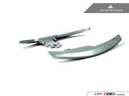 ES#3420972 - BM-0164-SA - Competition Shift Paddles - Silver Alloy - Racing paddles for M-DCT transmission - AUTOTECKNIC - BMW