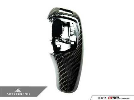 ES#3421006 - BM-0196 - Gear Selector Cover - Carbon Fiber - For vehicles with steptronic automatic transmission - AUTOTECKNIC - BMW