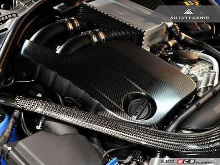 ES#3424306 - BM-0401 - Carbon Fiber Engine Cover - Matte - Get your engine bay show ready - AUTOTECKNIC - BMW