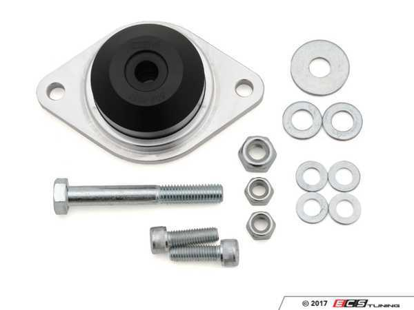 ES#3432217 - 034-509-4000 - Motorsport-Spec Solid Transmission Mount - Priced Each  - Solid aluminum base, CNC machined delrin mount, and installation hardware - Fits left and right sides - 034Motorsport - Audi