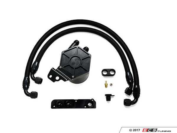 ES#3432282 - 034-101-1006 - 034Motorsport 2.0T FSI Catch Can Kit  - Keep oil and water vapor out of the intake tract - 034Motorsport - Audi