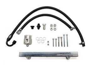 ES#3432394 - 034-106-7028 -  034Motorsport Billet Fuel Rail Upgrade Kit - Includes billet fuel rail, billet FPR adapter, hardware, and hoses for a simple drop-in installation - 034Motorsport - Audi Volkswagen