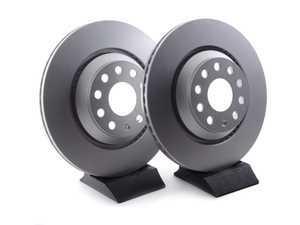 ES#3426756 - 1k0615601n7KT - Rear Brake Rotors - Pair (310x22) - Restore the stopping power in your vehicle - Meyle - Audi Volkswagen