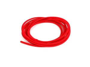 ES#2497467 - N10732503kt - Coil Pack Wire Covering - Red - 1 meter - One meter of matching red tubing for red coil pack covers - Genuine Volkswagen Audi - Audi Volkswagen