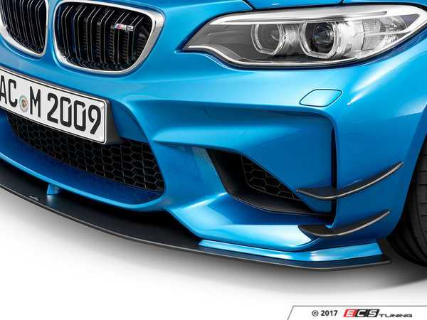 ES#3410958 - 5111287320 - AC Schnitzer Front lip canards - Give your car more aggressive looks and aero! - AC Schnitzer - BMW