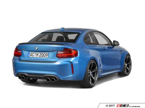 ES#3431159 - 5162287310 - AC Schnitzer Rear Spoiler - Carbon Fiber - An excellent way to add more aggressive looks to your BMW - AC Schnitzer - BMW