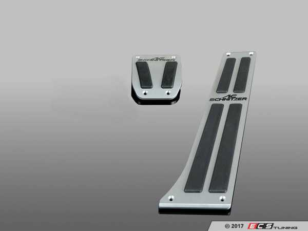 ES#3430904 - 352010130 - AC Schnitzer Aluminum Pedal Set - Automatic - Enhance the look of your interior - AC Schnitzer - BMW