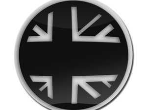 ES#3247217 - LC0009 - GoBadges 3D Flag BlackJack - Add a stylish design to your Go Badges holder or plate frame - Go Badges - MINI