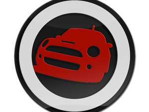 ES#3247229 - LC0037 - GoBadges 3D MINI Red 01 - MINI Front End - Add a stylish design to your Go Badges holder or plate frame - Go Badges - MINI