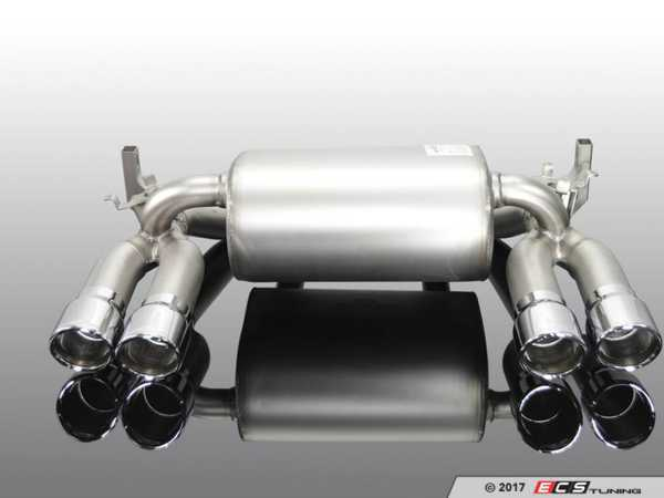 ES#3410766 - 1812282512 - AC Schnitzer Sport Rear Silencer - Stainless - Upgrade your exhaust system with a brand you trust - AC Schnitzer - BMW