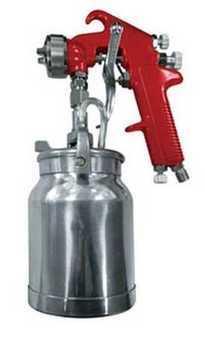 ES#2932081 - AST4008A - High Performance Spray Gun 1.8mm Nozzle - Suction Feed Paint Gun - Astro Pneumatic -