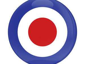 ES#3246885 - CD0058 - GoBadges Car Grill Badge British Royal Air Force Roundel - Add a stylish design to your Go Badges holder or plate frame - Go Badges - MINI