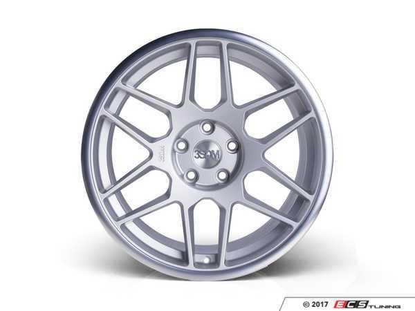 "ES#3432749 - 3s91885sm35KT - 18"" Style 0.09 Wheels- Square Set Of Four  - 18x8.5"" ET35 5x120. Silver with a machine polished lip. - 3SDM - BMW"