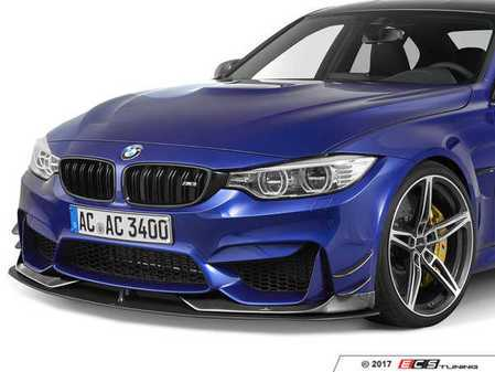 ES#3410956 - 5111282550 - AC Schnitzer Front Lip Spoiler - Give your M a unique style you can only get from AC Schnitzer - AC Schnitzer - BMW