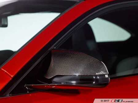 ES#3411036 - 5116282110 - AC Schnitzer Carbon Fiber mirror covers - A nice touch of carbon for a subtle yet aggressive look - AC Schnitzer - BMW