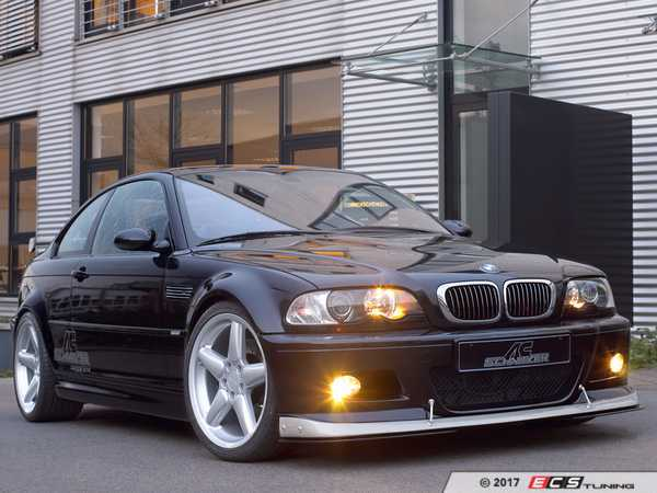 ES#3410959 - 511146315 - AC Schnitzer Carbon Fiber Front Spoiler - Silver - Give your M a unique style you can only get from AC Schnitzer - AC Schnitzer - BMW