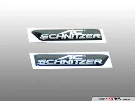 ES#3411029 - 511446331 - AC Schnitzer Side Grille Emblem - A subtle touch for the AC Schnitzer fan - AC Schnitzer - BMW