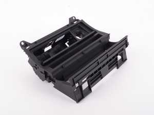 ES#82727 - 51167001410 -  Radio Mounting Bracket - Provides mounting for DSC, seat heating buttons, ashtray and storage compartment. Commonly used in the install of an aftermarket double-DIN headunit. - Genuine BMW - BMW