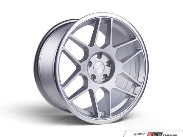 "ES#3437324 - 5060530680429KT - 18"" 0.09 - Set Of Four - 18x8.5 ET42 5x112 - Matte Silver / Polished Lip - 3SDM - Audi Volkswagen"